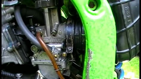 Dirtbike - How To - Ajust Your Idle Screw - YouTube