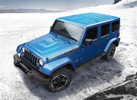 Jeep Wrangler Polar Edition Arrives Just In Time For Winter