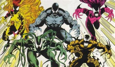 Venom Symbiotes Explained: From Riot to Hybrid | Collider