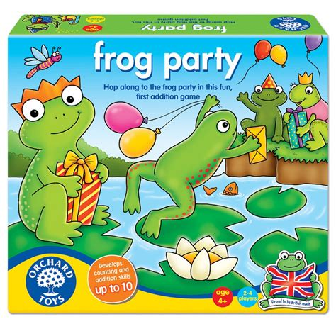 Orchard Toys Frog Party Counting & Addition Game An