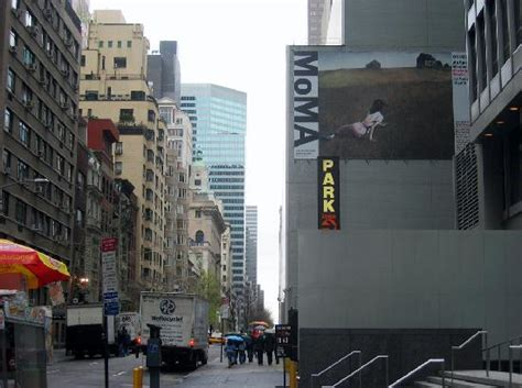 Moma building and banner - Picture of The Museum of Modern