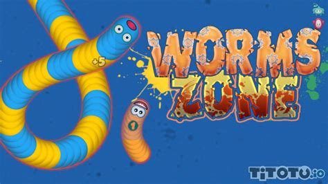 Worms Zone — Play for free at Titotu