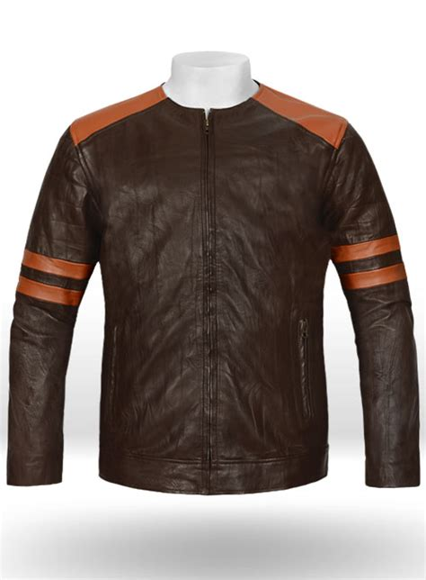 Leather Fighter T-Shirt Jacket : LeatherCult