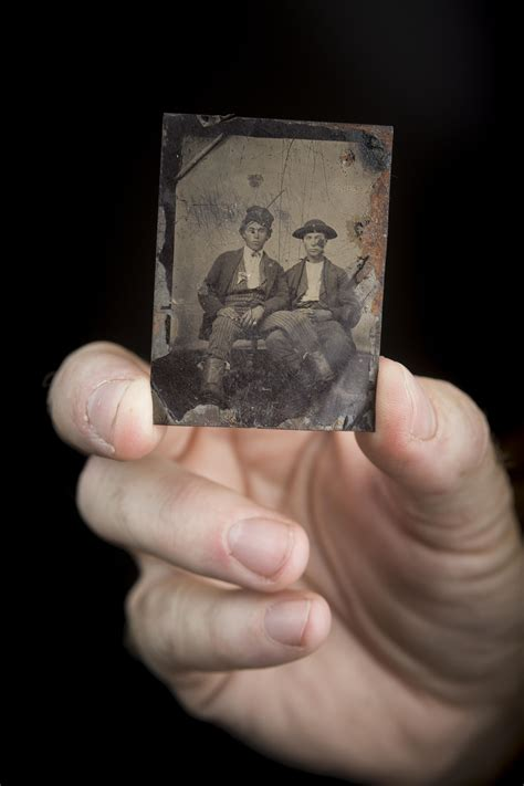 Brothers claim 'dug up' photo shows Billy the Kid with