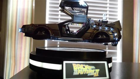 Floating Back to the Future 2 Delorean Unboxing! Kids