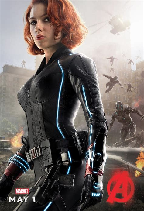 Thor, Black Widow and Nick Fury Get Character Posters for