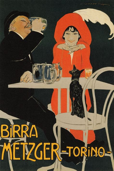 Beer In Ads #2995: Birra Metzger Lady In Red - Brookston