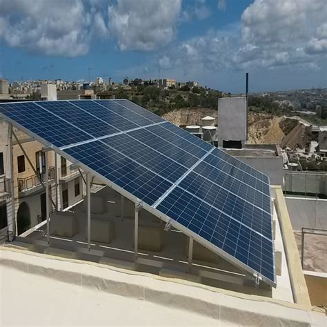 Projects - Domestic PV Panels Malta - Renergy Limited