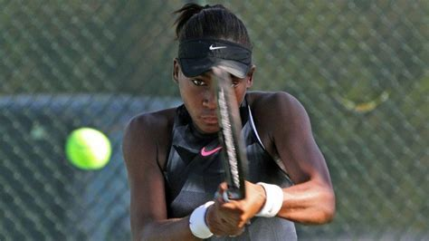 Delray's Coco Gauff, 14, stays grounded with family after