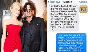 'Amber Heard text messages to Johnny Depp's assistant