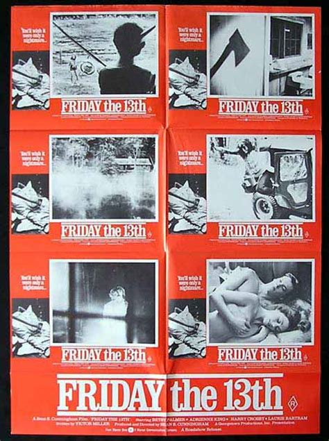 Friday The 13th/Press Kit - The Grindhouse Cinema Database