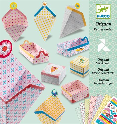 Djeco Origami Small Boxes Paper Craft Kit for Kids Buy