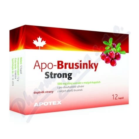 APO-Brusinky Strong 500mg cps