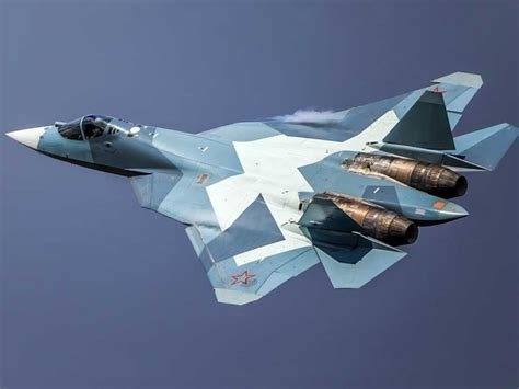 Why do Russian fighter jets like the Su-57 and Su-27 have