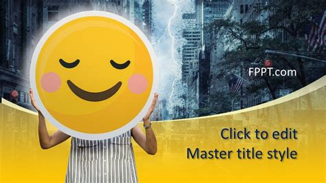 Free Smile PowerPoint Template - Free PowerPoint Templates