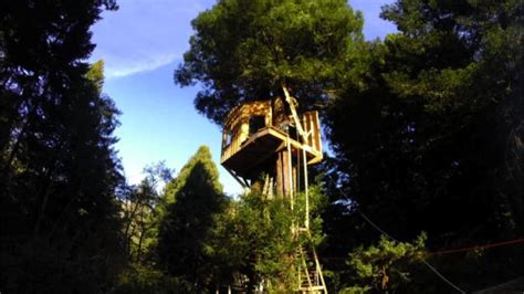 Time Lapse: Sky-High Redwood Retreat - Treehouse Masters