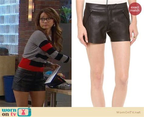 WornOnTV: Veronica's grey and red striped sweater with