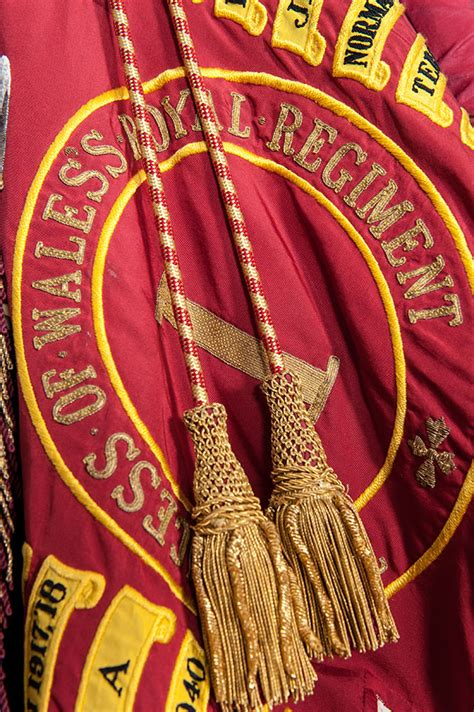 The Colours of The Princess of Wales's Royal Regiment