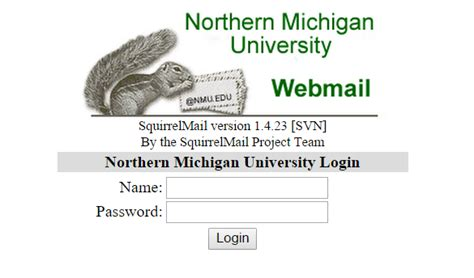 Using SquirrelMail Webmail | IT Services
