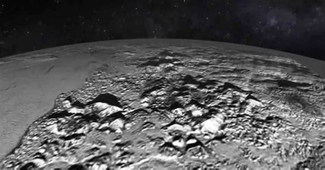 New Horizons' Latest: Fly Over Pluto's Ice Mountains and