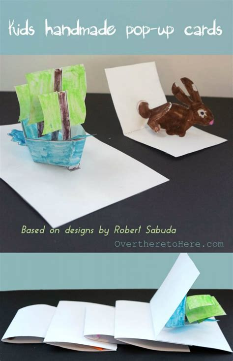 Kids Homemade Pop Up Cards and Wonderland! - Wild About Here