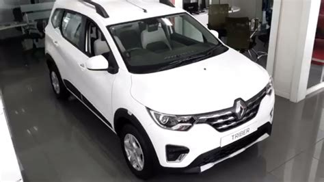 Renault Triber   Ice Cool White   Exterior And Interior