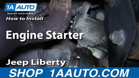 How To Install Replace Engine Starter 3