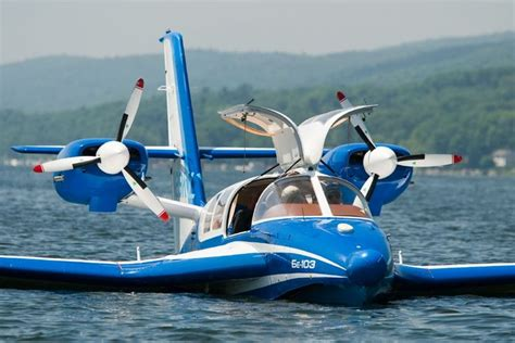 The Beriev Be-103 is a light 7 seater amphibian aircraft