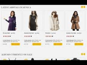 How to Create Ecommerce Website HTML CSS with Slider Part