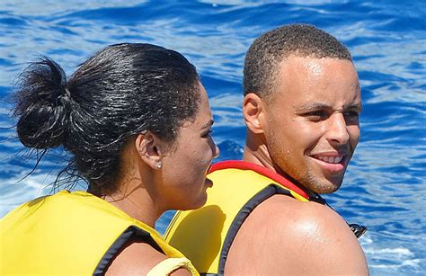 Steph Curry Vacation Pics Show Wife Ayesha In Bathing Suit