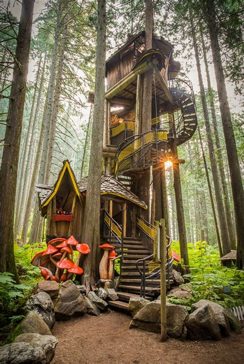 The tallest Treehouse in Canada @ The Enchanted Forest