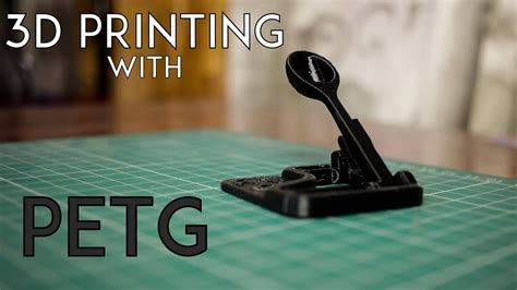 3D Printing with PETG filament - YouTube